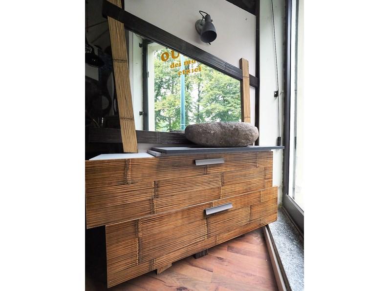 Bagno cross in legno e crash bambu mobile da bagno a for Arredo bagno black friday