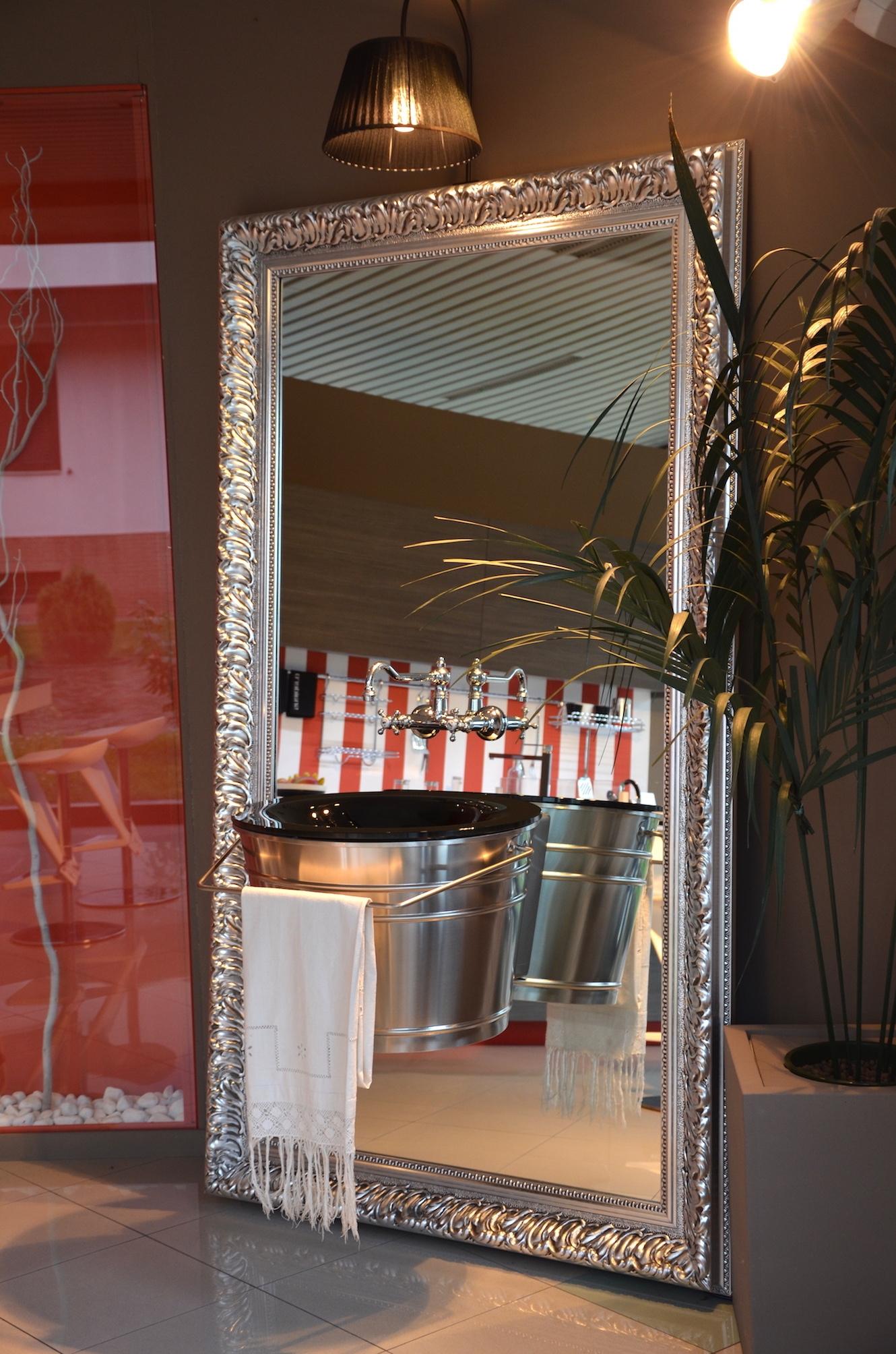 Mobili bagno di lusso mobile bagno in pelle barocco - Arredo bagno di lusso ...