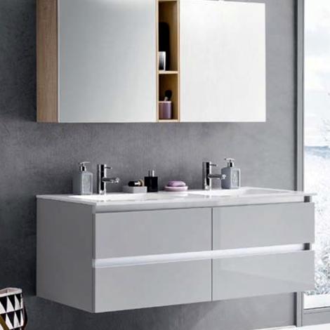 Bagno doppio lavabo geacryl arredo bagno a prezzi scontati for Prezzi lavabo bagno