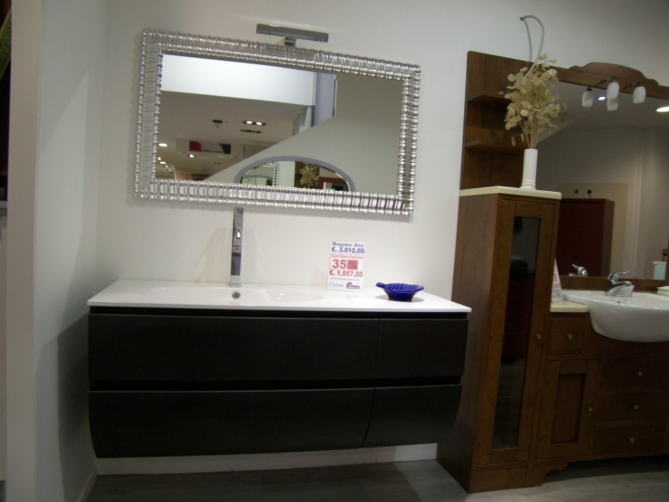 Lavandino bagno con mobile good lime comp ricercato mobile da