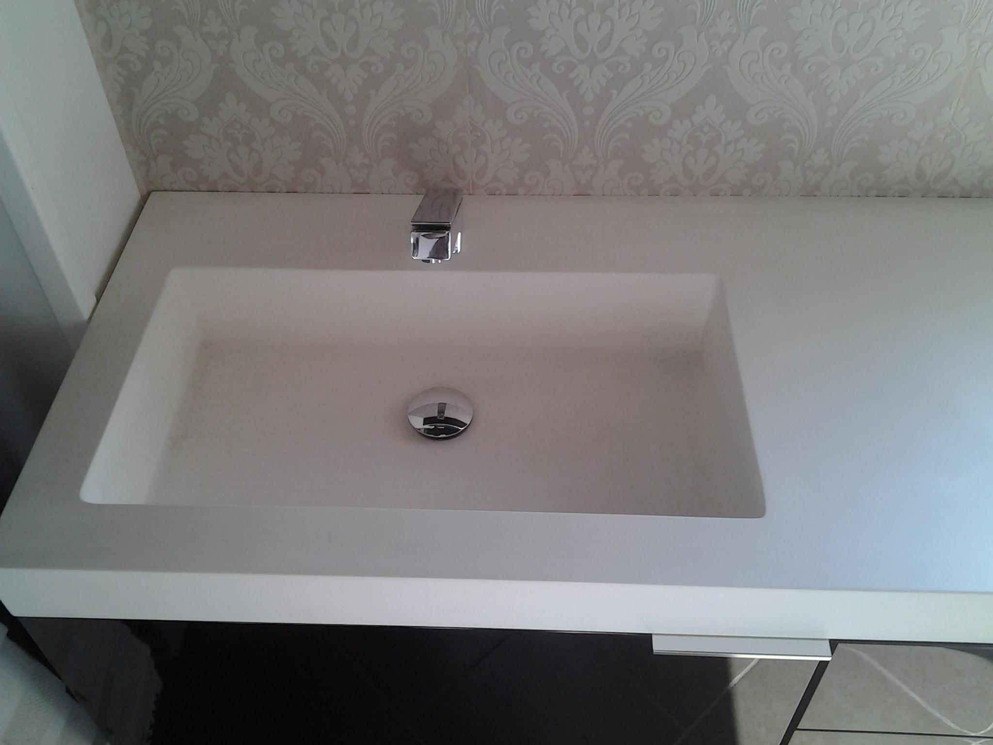 Bagno laccato nero lucido top lavabo korakril arredo - Lavabo bagno ikea prezzi ...