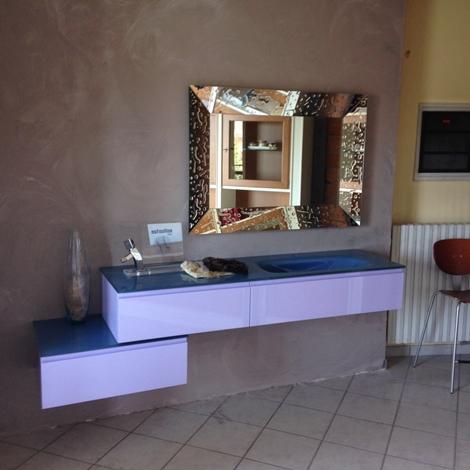 Bagno lilla laccato opaco scontato del 67 arredo bagno - Mobile bagno lilla ...
