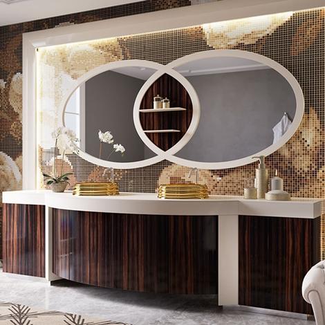 Arredo bagno lusso great arredamenti mobili da bagno for Arredo bagno design lusso