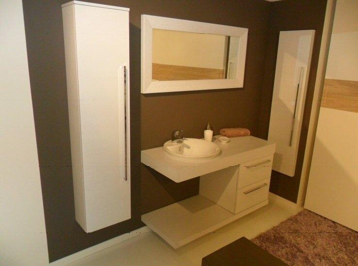 Mobile bagno lavabo semincasso simple mobile da bagno con base
