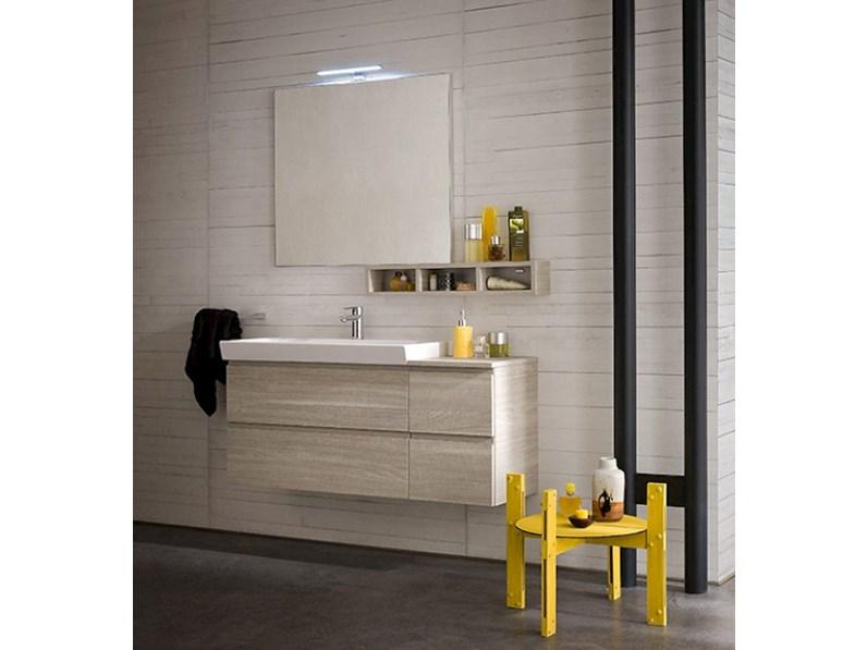 Composizione mobile bagno moderno sospeso Compab - Arredo bagno a ...