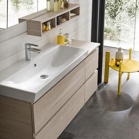 Composizione mobile bagno moderno sospeso compab arredo bagno a prezzi scontati - Arredo bagno sospeso ...
