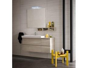 Composizione mobile bagno moderno sospeso Compab