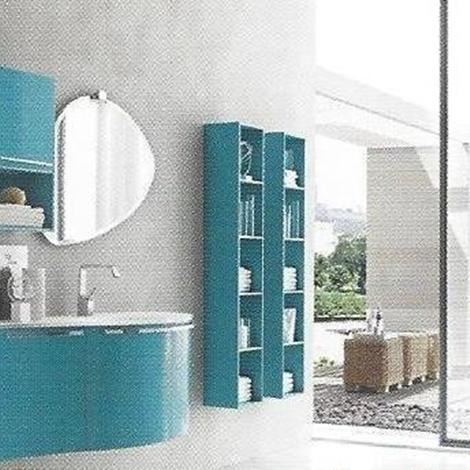 bagno moderno - sky 32 rovere - arredo bagno a prezzi scontati - Arredo Bagno Moderno Prezzi