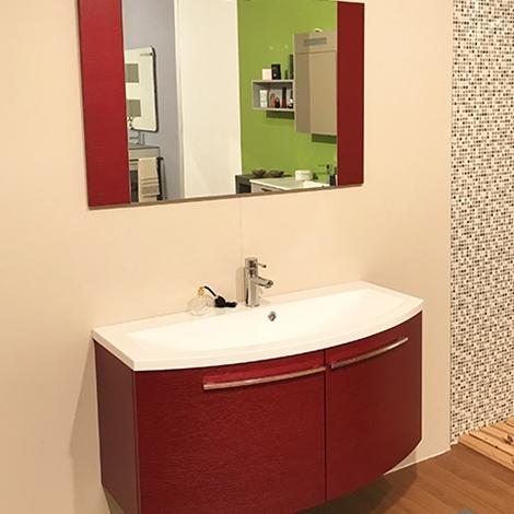 Bagno punto tre legno curvo offerta arredo bagno a - Offerta mobile bagno ...