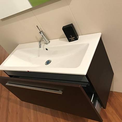 Mobili bagno profondit 40 best mobile bagno feridras cm rovere chiaro si mobile consolle - Lavabo bagno sospeso offerta ...