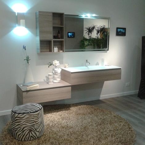 Bagno scavolini modello rivo in decorativo colore larice - Arredo bagno scavolini prezzi ...
