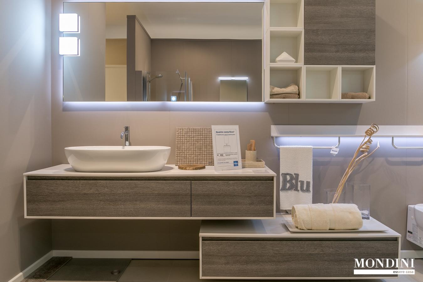 Bagno scavolini modello rivo scontato del 35 arredo - Scavolini arredo bagno ...