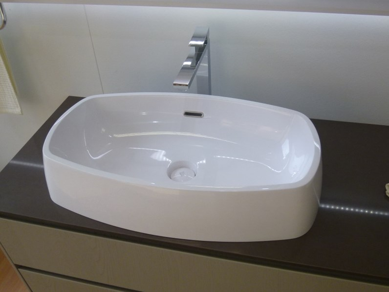 Bagno scavolini rivo impiallacciato legno 40 arredo - Rubinetteria bagno gessi prezzi ...