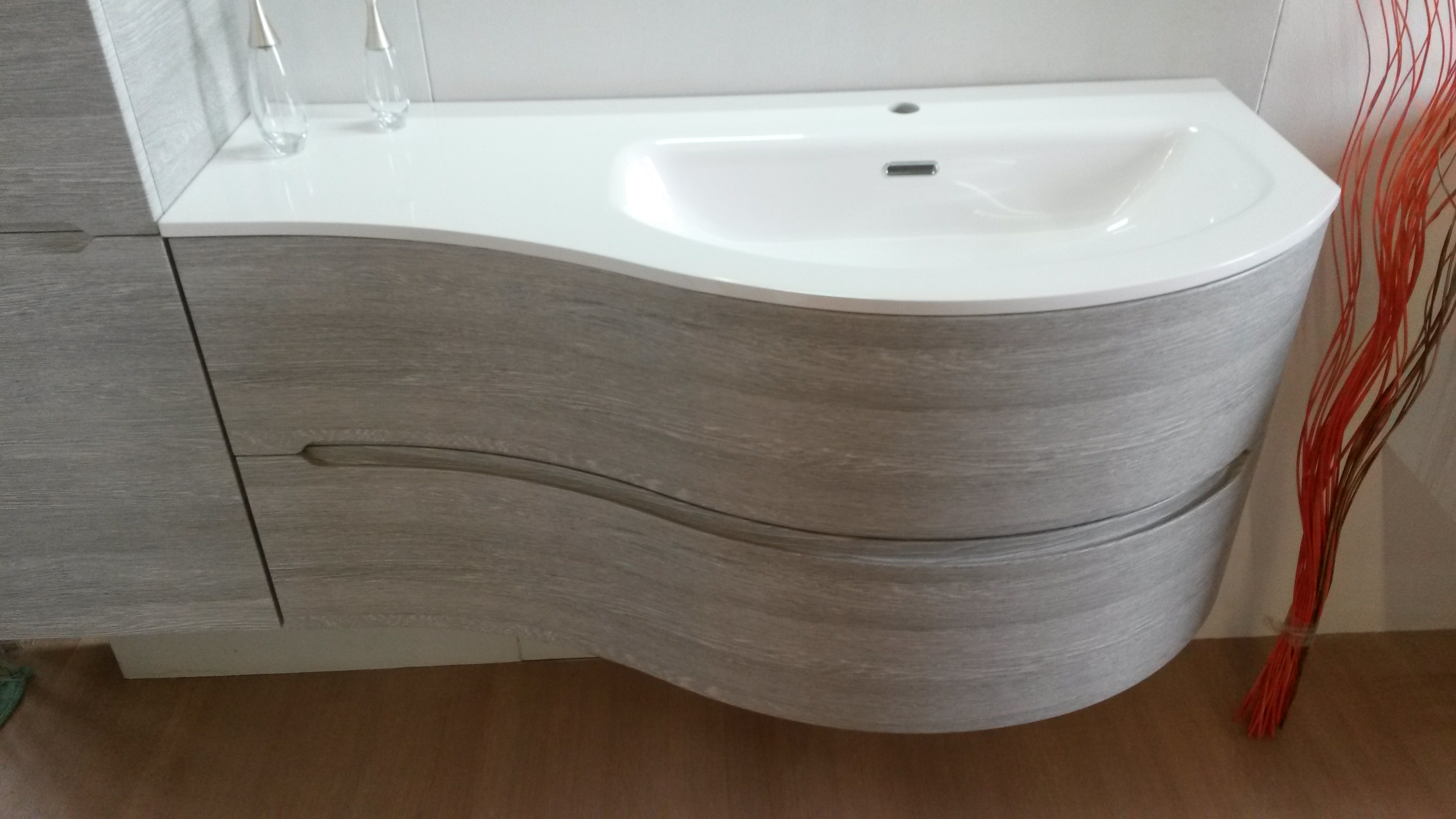 Bagno smyle di idea group scontato del 40 arredo bagno a prezzi scontati - Mobile bagno profondita 40 ...