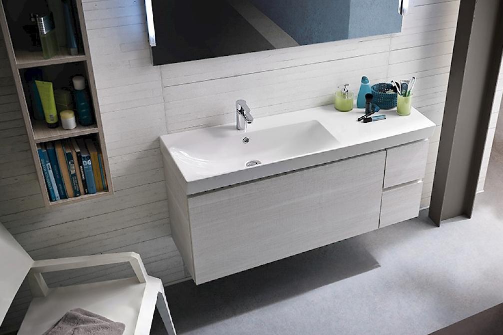Compab composizione bagno moderno sospeso arredo bagno a for Mobili bagni prezzi