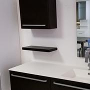venduto bagno sospeso mod condor legno sottocosto