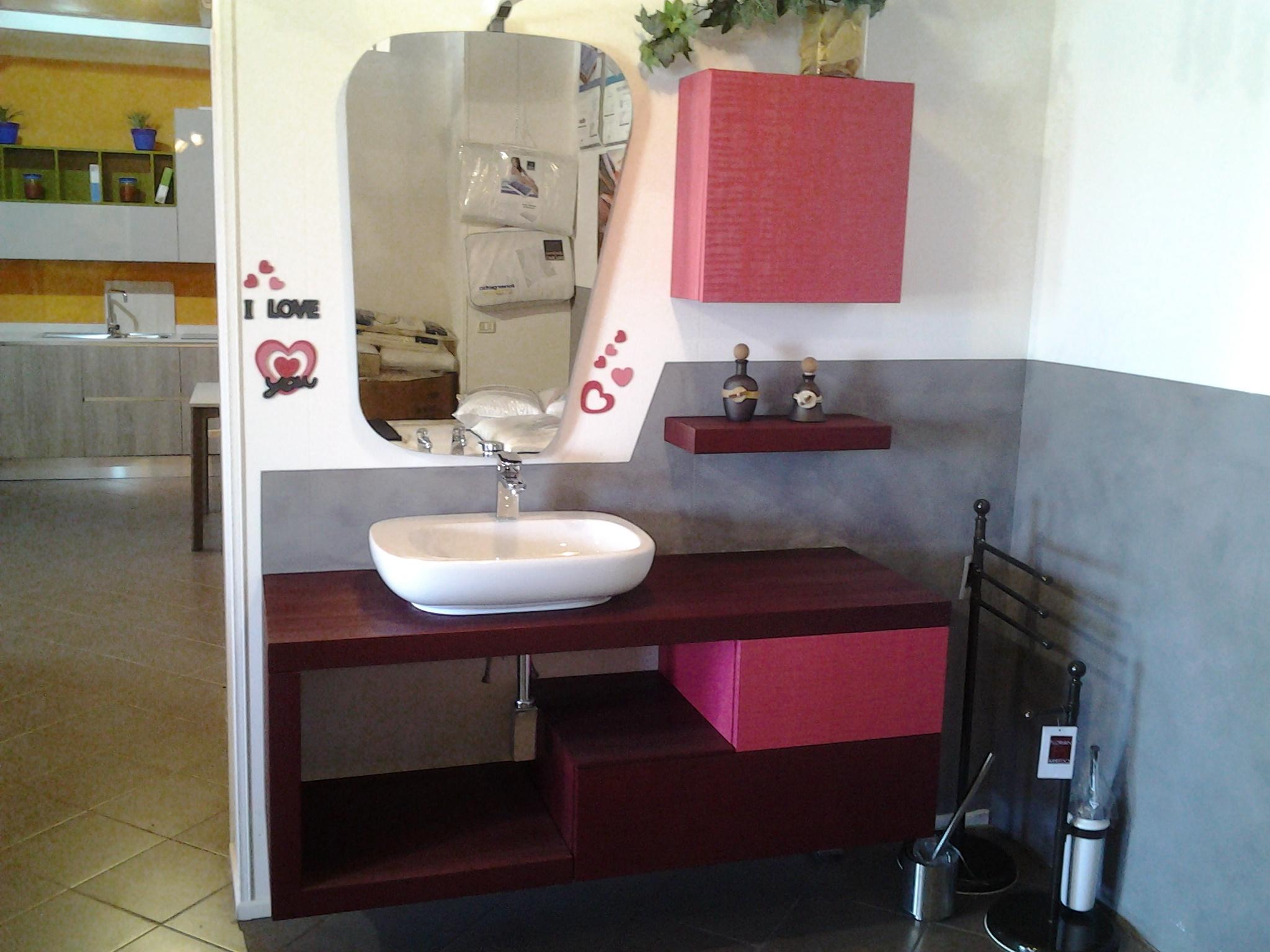 Bagno sospeso modello gura arredo bagno a prezzi scontati for Arredo bagno sospeso