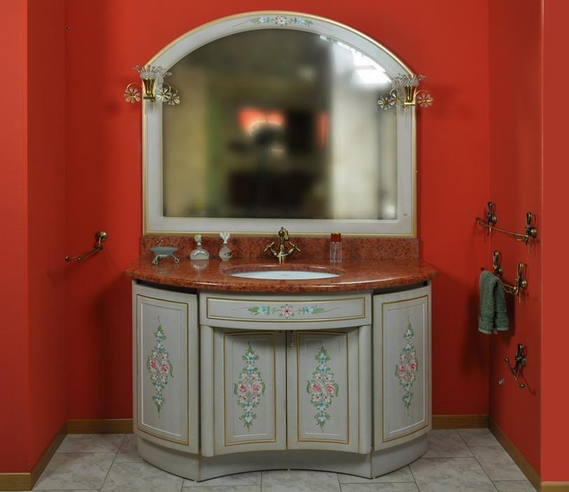 Bagno stile classico mobiltesino ultimo pezzo in offerta a for Arredo bagno miglior prezzo