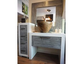BAGNO CRASH BAMBU' WHITE/GREY