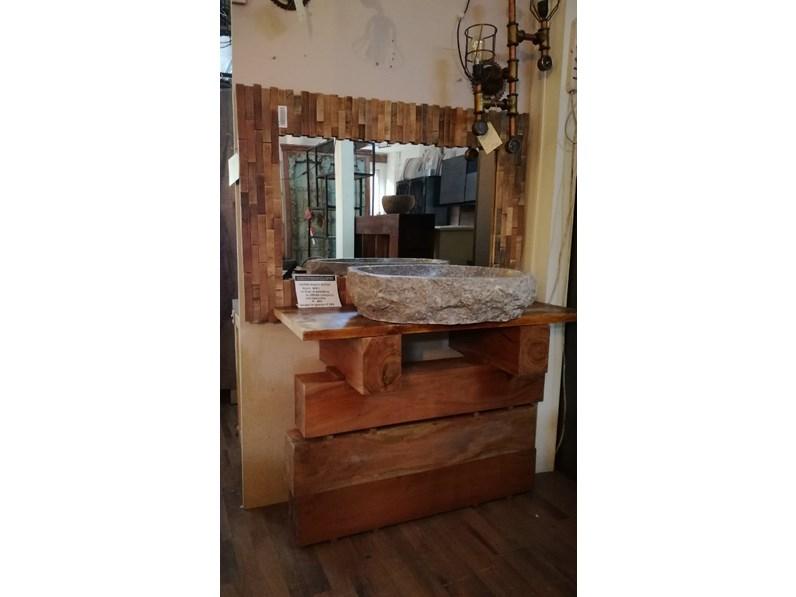 Bagno zen elegant wood outlet etnico mobile da bagno a prezzi outlet - Mobile bagno etnico ...