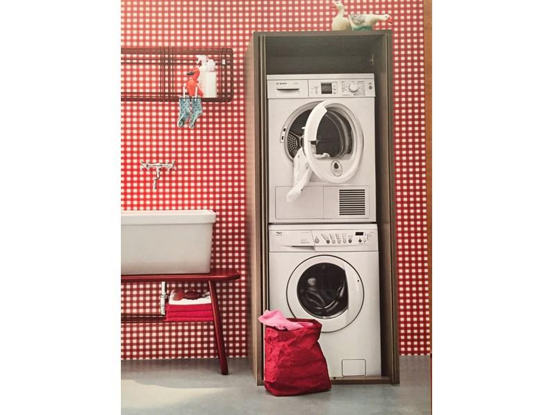 Colonna porta lavatrice asciugatrice scontato del 30 - Mobile per lavatrice e asciugatrice ...