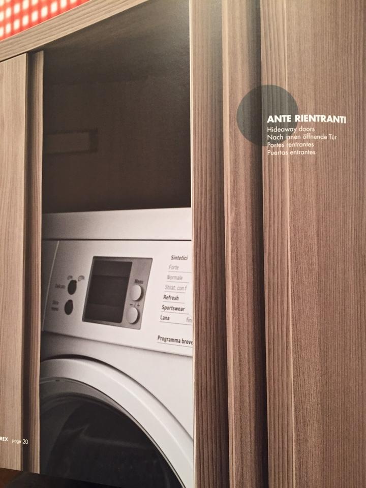 Colonna porta lavatrice asciugatrice scontato del 30 - Porta scopino bagno ikea ...