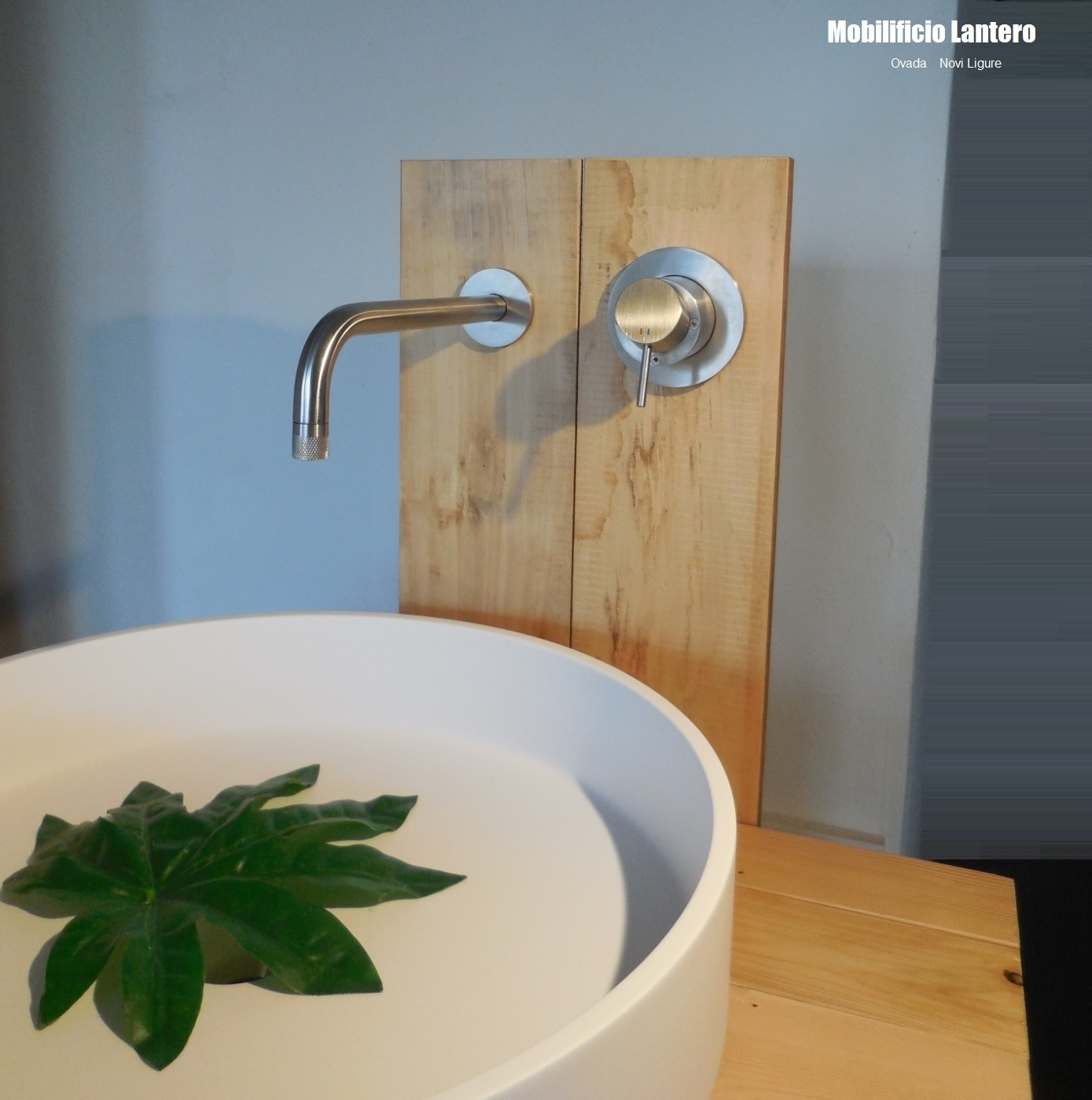 Boffi boffi lotus lavabo con miscelatore minimal design for Arredo bagno con lavabo da appoggio