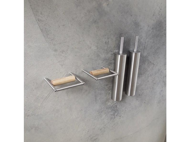 Boffi accessori bagno inox design boffi minimal porta rotolo e porta scopino design - Boffi accessori bagno ...