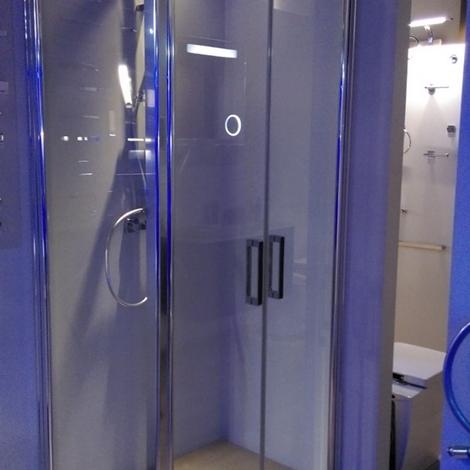 Box doccia con apertura a saloon arredo bagno a prezzi for Arredo bagno con box doccia