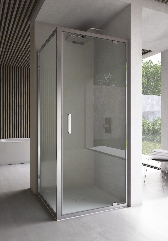Box doccia free battente scorrevole arredo bagno a for Arredo bagno con box doccia