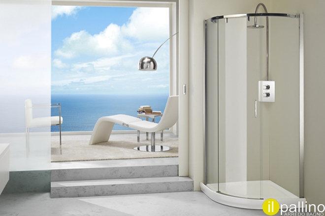 Box doccia silanus calibe arredo bagno a prezzi scontati for Arredo bagno doccia