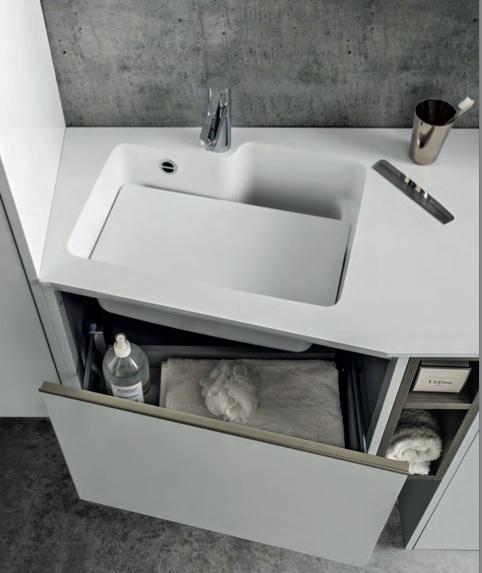 Cerasa Mod. movida con mobile lavatrice scontato del -29 % - Arredo ...
