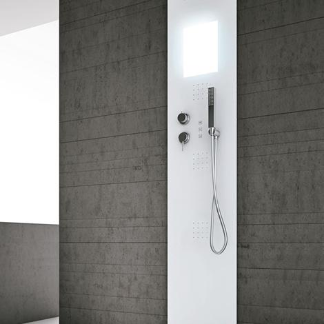 Colonna generatore di vapore per bagno turco arredo for Colonna arredo bagno
