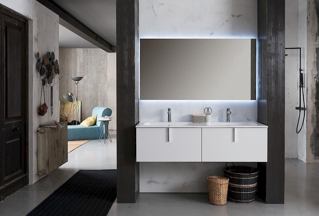 Compab bagno moderno sospeso scontato del 41 arredo bagno a prezzi scontati - Arredo bagno sospeso ...
