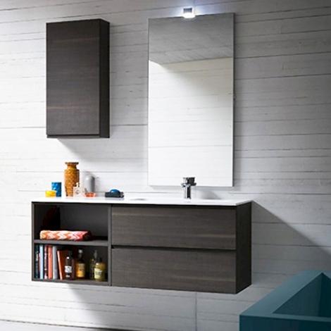 bagno moderno compab sospeso - arredo bagno a prezzi scontati - Arredo Bagno Moderno Sospeso