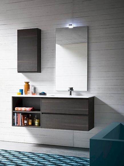 Bagno moderno compab sospeso arredo bagno a prezzi scontati - Composizione bagno moderno ...