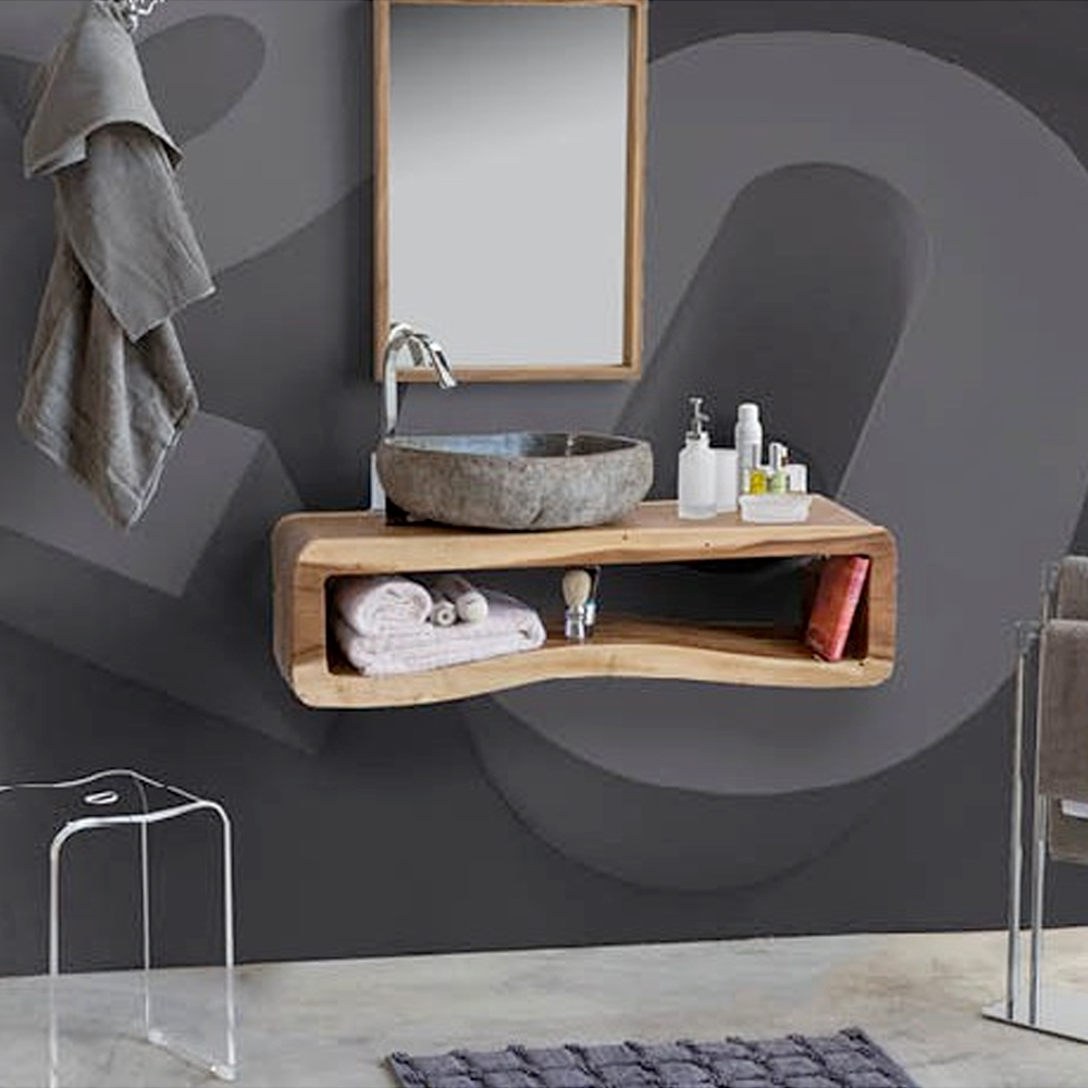 Composizione bagno modello otto di cip arredo bagno a - Modelli di bagno ...