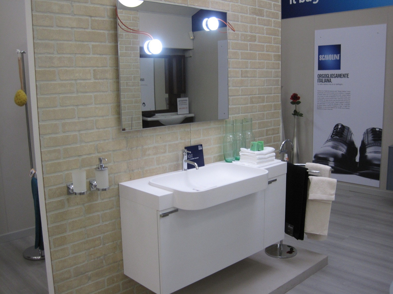Composizione bagno larice arredo bagno a prezzi scontati for Composizione bagno
