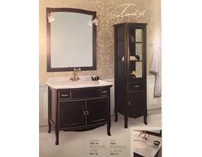 Composizione mobile bagno artigianale Tivoli cm98 (vetrinetta su richiesta) al 50%