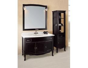 Composizione mobile bagno artigianale Tivoli (vetrinetta su richiesta) al 40%
