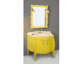 Composizione mobile bagno Giotto decorato cm104 al 40%