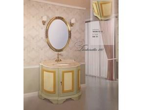 Composizione mobile per la sala da bagno Tintoretto cm110 con varianti top in marmo