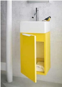 Ideal Bagni Mobile da bagno doppio Laccato Lucido - Arredo bagno a prezzi scontati