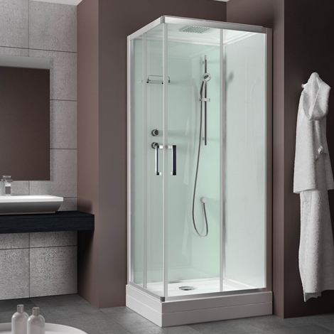 Grandform Evobasic cabina doccia 70x90 reversibile rettangolare ...