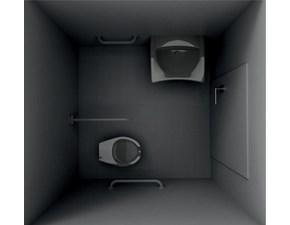 Kit6 accessibile  Artigianale: mobile da bagno A PREZZI OUTLET