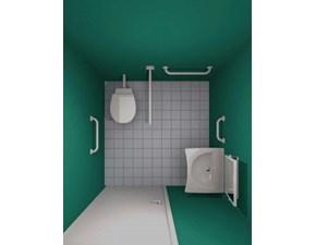 Kit8 accessibile  Artigianale: mobile da bagno A PREZZI OUTLET
