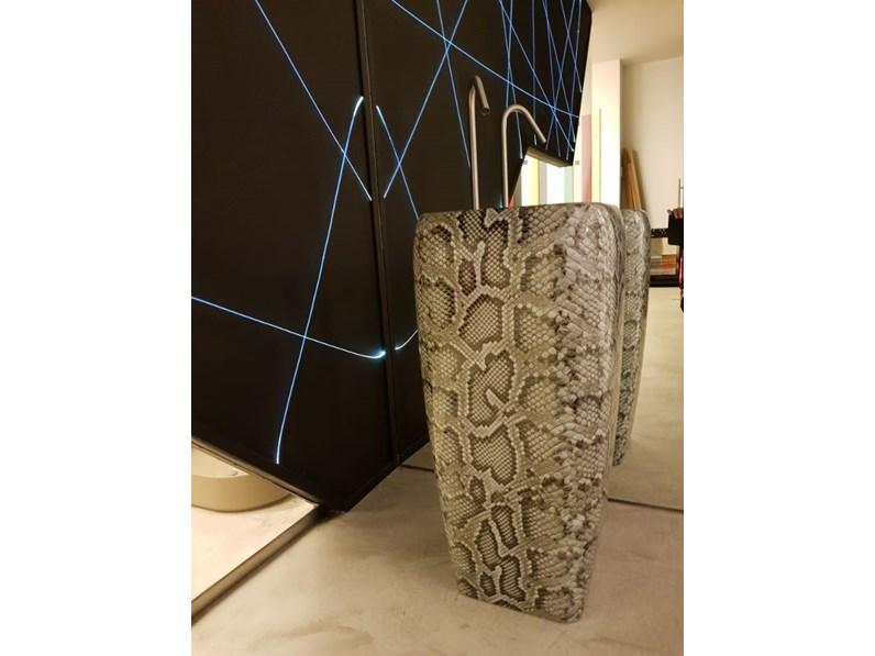Ceramica Cielo Lavabo Shui.Lavabo Shui Freestanding Ceramica Effetto Pitonato