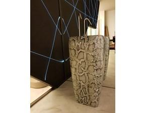 Lavabo Shui freestanding ceramica effetto pitonato