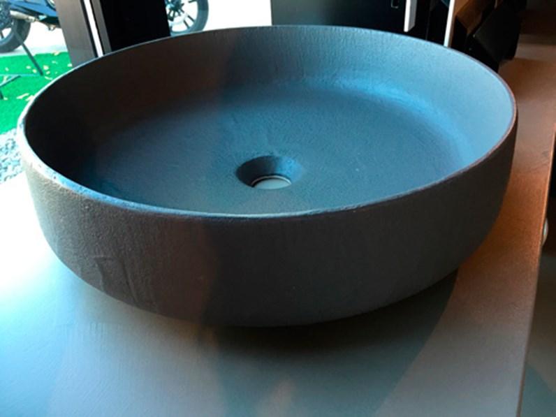 Lavabo In Ceramica Per Esterno.Lavabo In Ceramica Da Appoggio Rivestito In Ecomalta Oltremateria