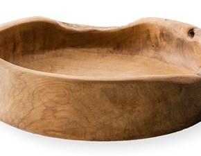 Lavandino in legno naturale modello Bantul di Cipì